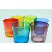 色鮮やかな 琉球 ロックグラス